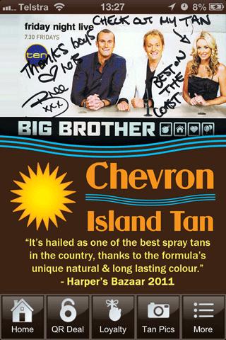 Chevron Island Tan