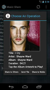 Music Share screenshot