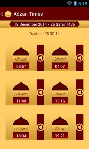 Adzan Times Qur'an