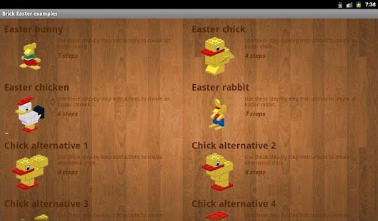 Brick Easter examples- screenshot thumbnail