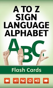 Sign Language Alphabet Cards- screenshot thumbnail