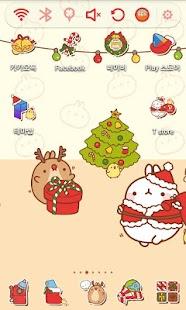 手機個人化時代來臨!由몰랑 해피 크리스마스 런처플래닛 테마 App推出更新版本
