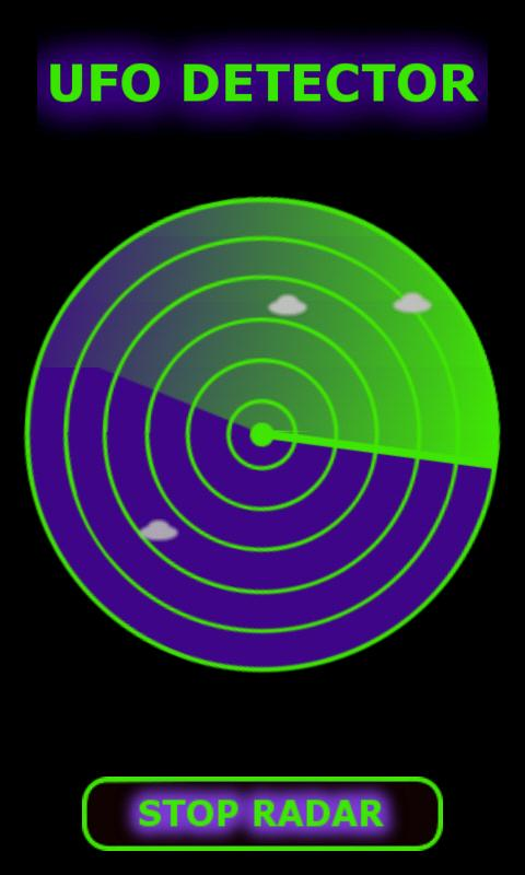UFO Radar Scanner - screenshot