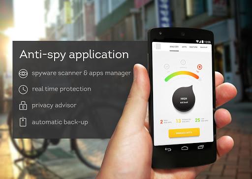 Spyproof: Antispyware Backup