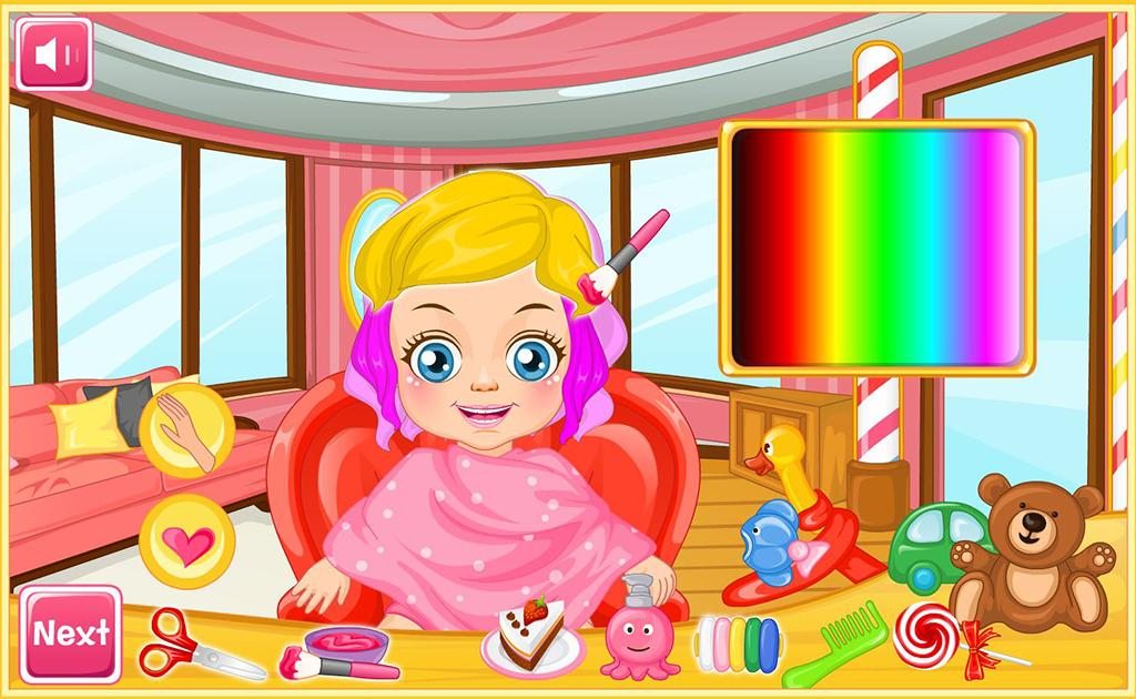 Fantastic Casual Baby Game Hair Salon Android Apps On Google Play Short Hairstyles Gunalazisus