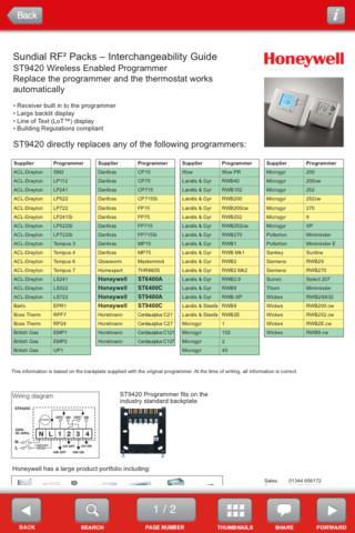 Wiring Guide by Honeywell(Pho)- screenshot