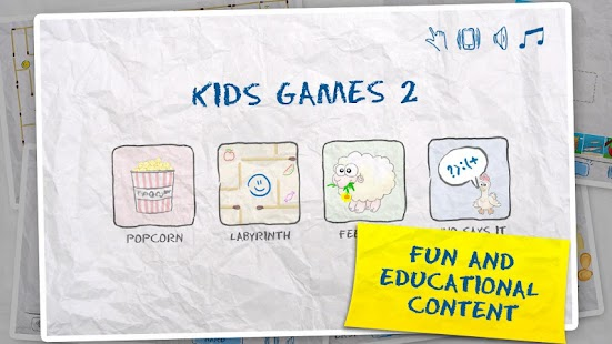 Kids Games 2 4 in 1