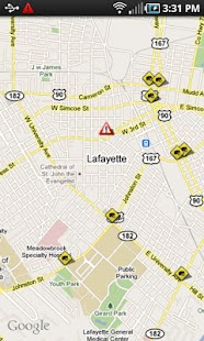 Lafayette Traffic- screenshot thumbnail