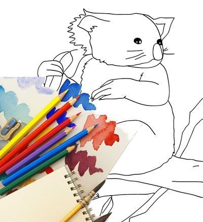 Kids Games : Zoo Coloring