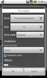 OfficeSuite Font Package