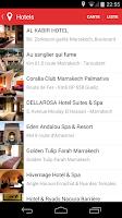 Screenshot of City Guide Maroc Marrakech