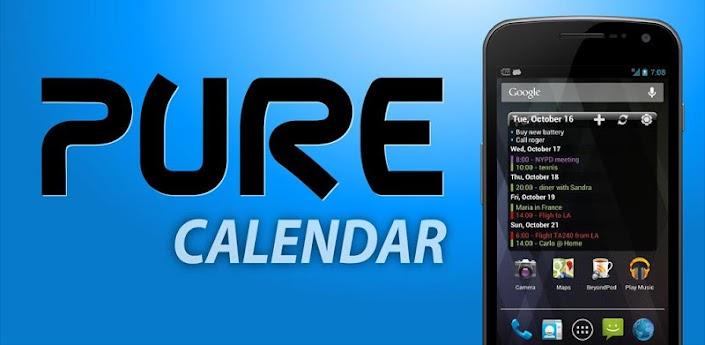 Pure Calendar widget agenda apk