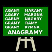 Anagramy Słowo Quiz - Polski