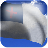 Christian Flag Live Wallpaper