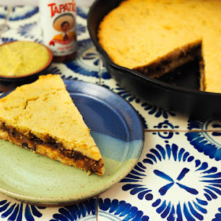 Mexican Tamale Pie (Cazuela de Tamal) With Black Bean Filling