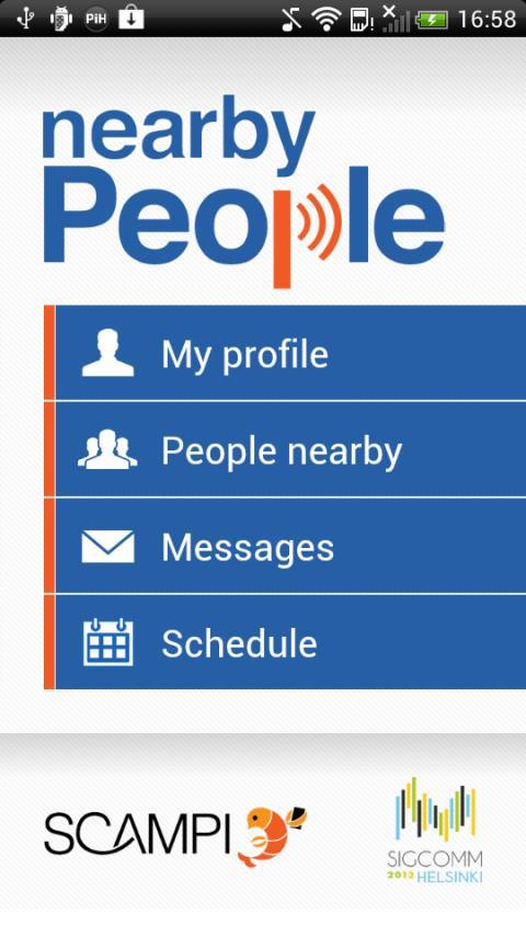 nearbyPeople- screenshot