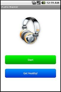 Audio Blaster Prank- hình thu nhỏ ảnh chụp màn hình