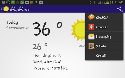 SkyShine-Weather Forecasting screenshot 6