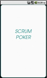 Scrum Planning Poker- screenshot thumbnail