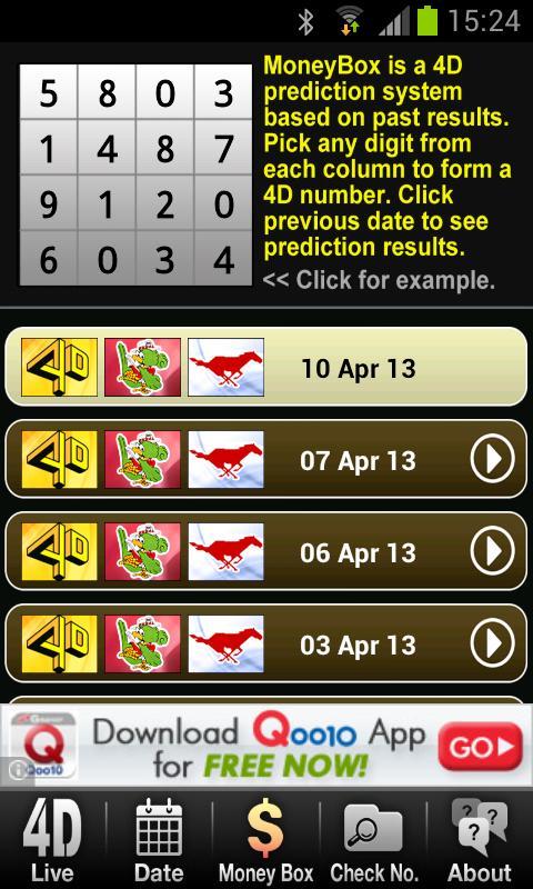 Live 4D Malaysia- screenshot