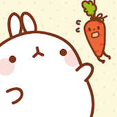 Molang Let's get carrot! Atom