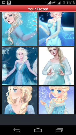 Your Frozen - picture puzzle