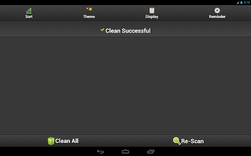 Cache Cleaner Easy - screenshot thumbnail