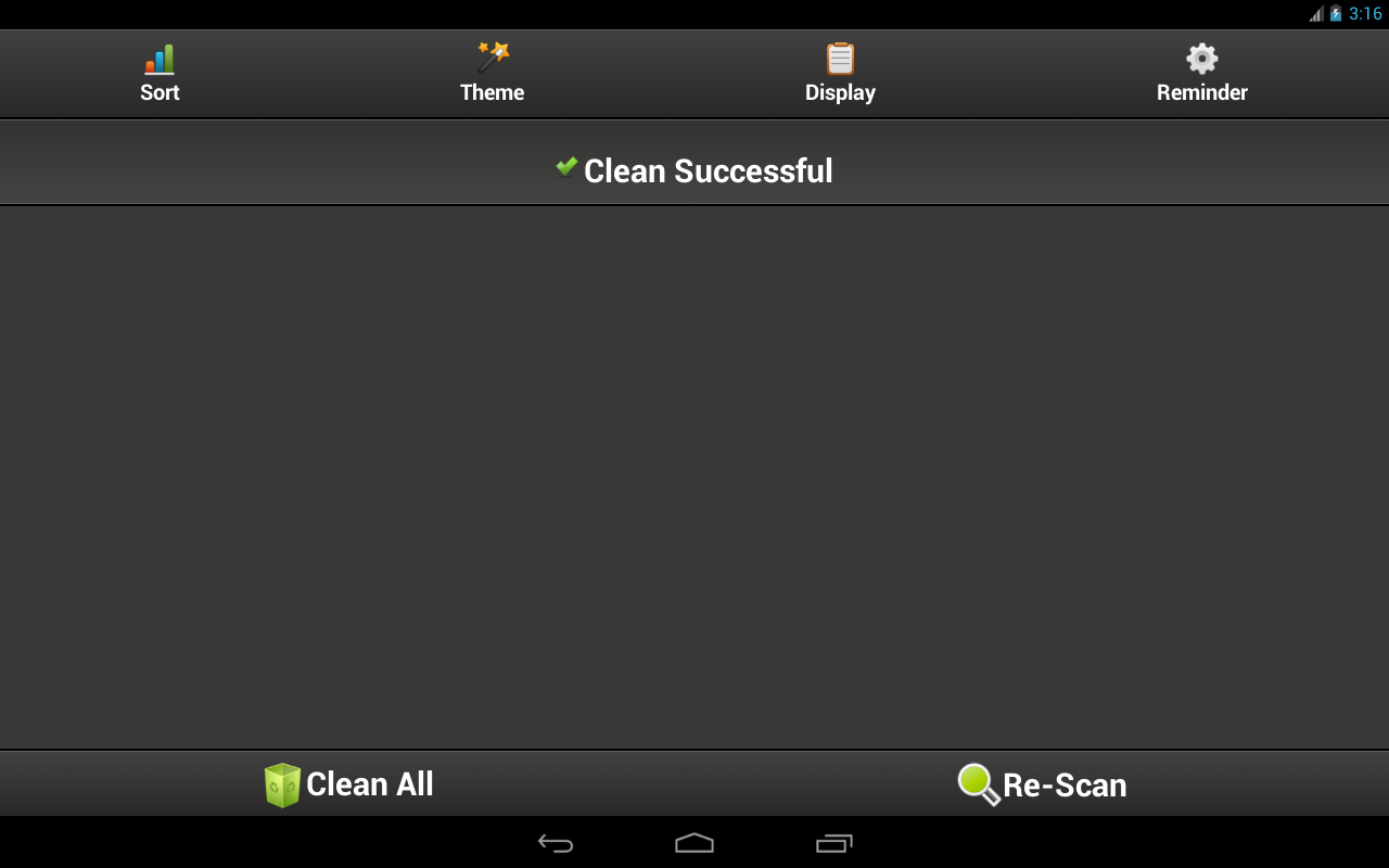 Clean Cache - Optimize Support Android 6.0 & 7.0- screenshot