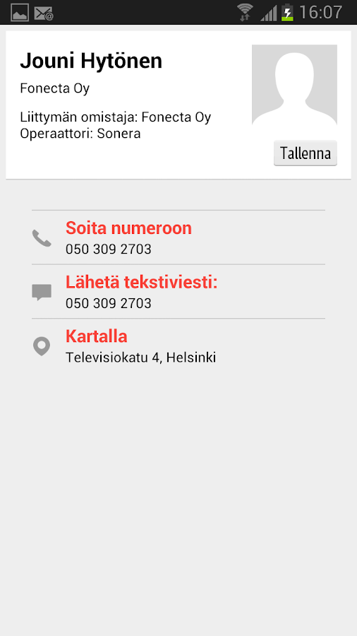 Fonecta Caller - screenshot