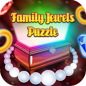 Family Jewels Puzzle Matching