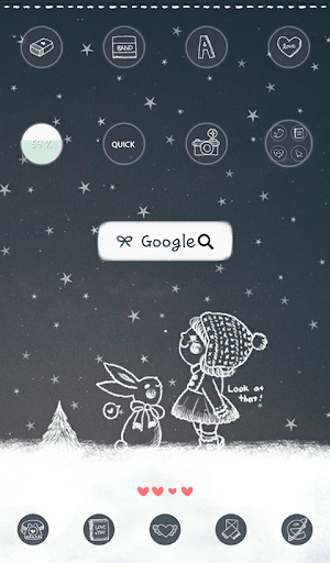 별이 Starry Night 도돌런처 테마