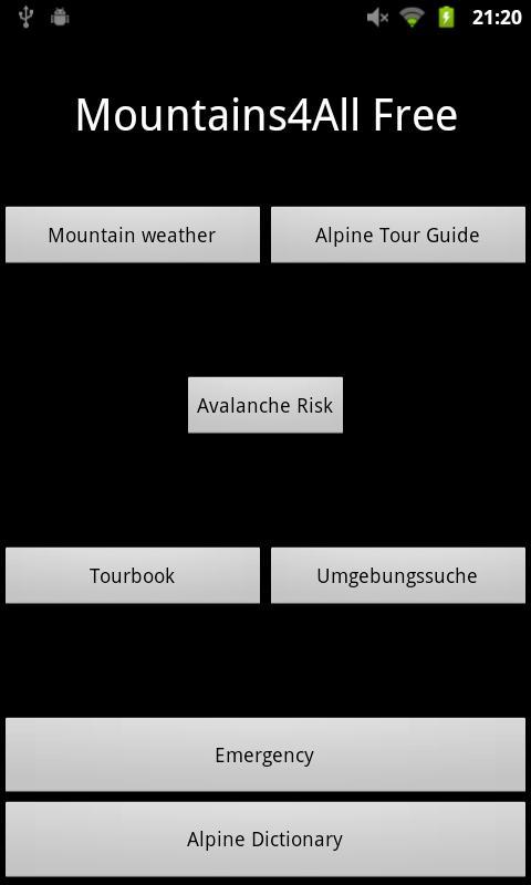 Mountains4All - screenshot