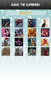 Guess The Character  SuperHero - screenshot thumbnail