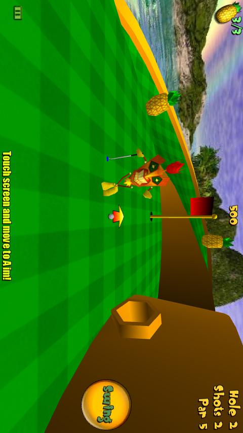 Tiki Golf 3D- screenshot