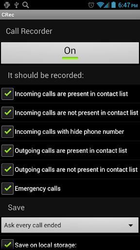 CRec Call Recorder