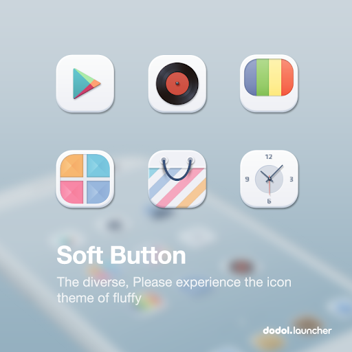 Soft Button dodol theme