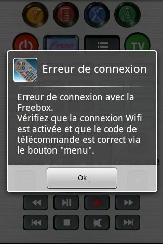 Freebox Control - Telecommande - screenshot