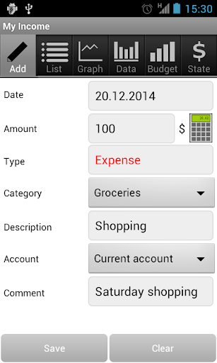 My Income