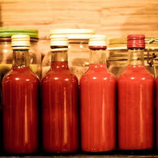 Homemade Hot Sauce.