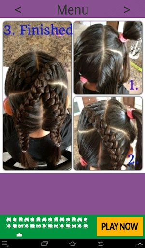 Hairstyles for girls Screenshot