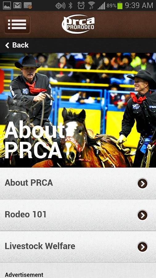 PRCA ProRodeo - screenshot