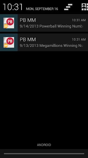 POWERBALL MEGA MILLIONS ALERT