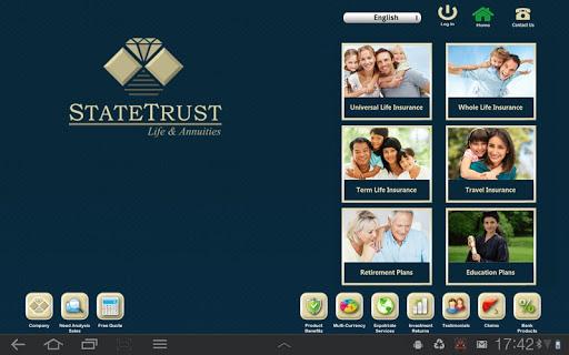 StateTrust Life Annuities App
