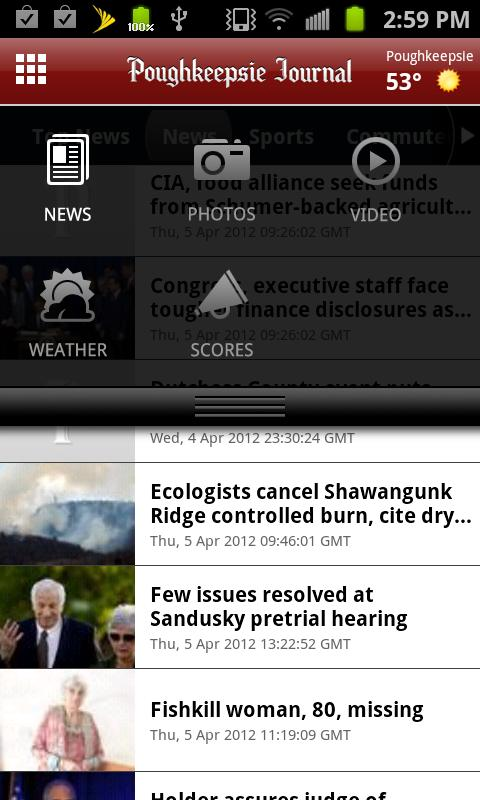Poughkeepsie Journal - screenshot