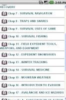 Screenshot of USMC Winter Survival Handbook