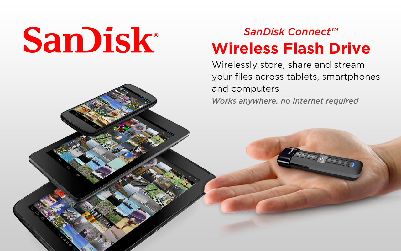 SanDisk Wireless Flash Drive - screenshot