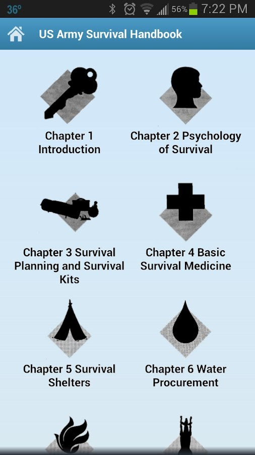 Army Survival Handbook – Offline Manual Guide App- screenshot