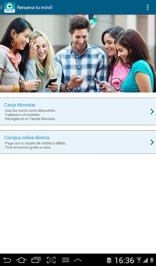 Por ser de Movistar - screenshot