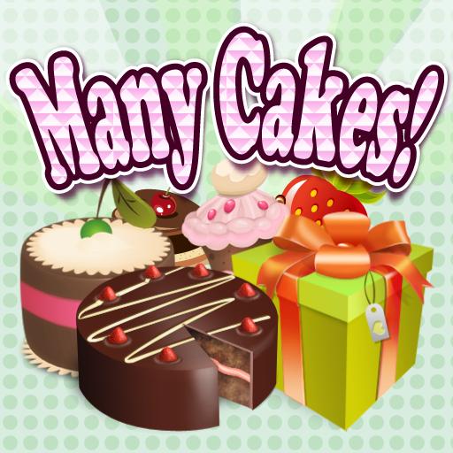 - Many Cakes! -オシャレな可愛いケーキ屋さん LOGO-APP點子