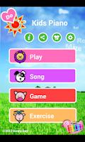 Screenshot of Kids Piano